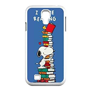 Hjqi - DIY Snoopy Plastic Case, Snoopy Unique Hard Case for SamSung Galaxy S4 I9500
