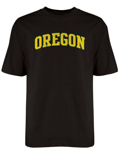 NCAA Oregon Ducks Licensed T-Shirt, Medium, Black