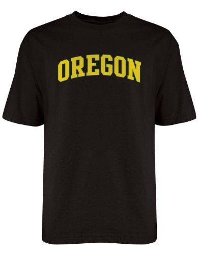 NCAA Oregon Ducks Licensed T-Shirt, Medium, Black
