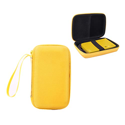 Aenllosi Hard Carrying Case for Polaroid Mint Instant Camera & Printer (Yellow)