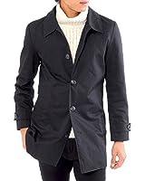 (スペイド) SPADE スプリングコート トレンチコート ステンカラーコート メンズ コート ロング 【e297】