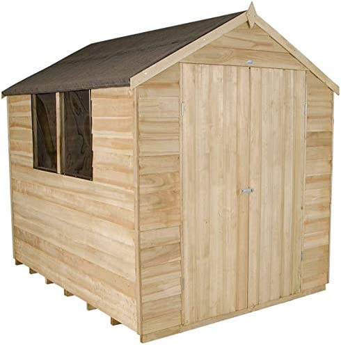 Madera Primer jardín cobertizo madera,Wood: Amazon.es: Hogar