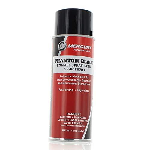 OEM Mercury Marine Outboard Precision Phantom Black Spray Paint 92-802878 1 ()