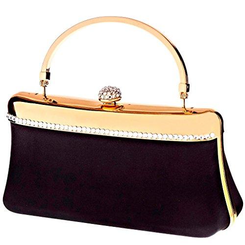 SARAH KERN DIACRISIA Design Handtasche, mit synthetischen Steinen besetzt, GLAM Kollektion, SW00356