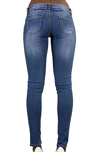 A Les Les Cheville Darkblue La Stretch Femmes Jeans Jeans Skinny rqYCBHqw