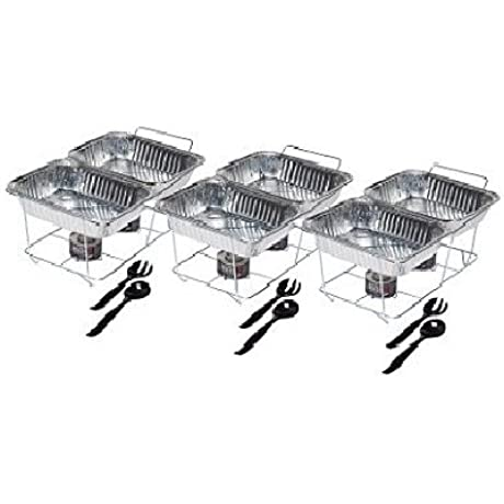 Daily Chef Disposable Food Serving Party Set 24 Pc