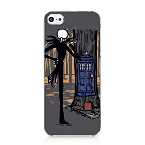 MCTM The Nightmare Before Christmas Tardis Box DR WHO Case Cover For iPhone 5c New