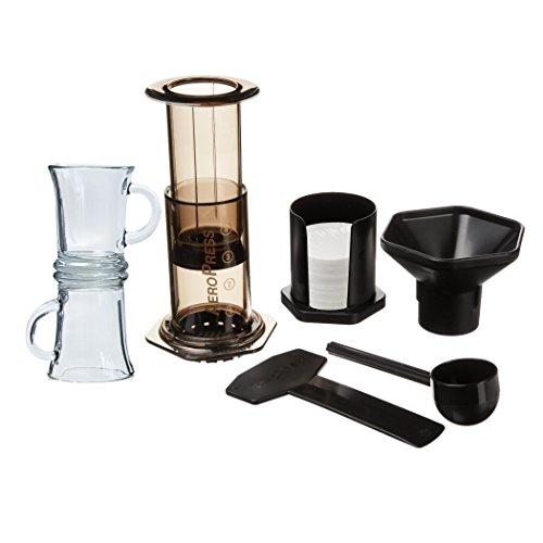 Aerobie-AeroPress-Coffee-Maker-with-2-Glass-Mugs