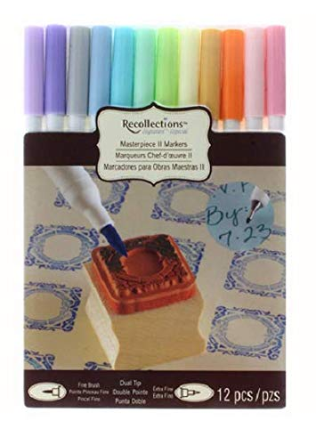 Pastel Masterpiece II Markers by Recollections - Set of 12