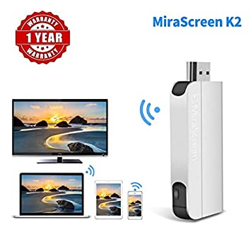 MiraScreen K2 Airplay WiFi Wireless Display Dongle HDMI TV Dongle