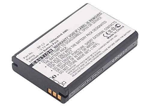 Synergy Digital Battery Compatible with Tascam DR-1 Recorder Battery (Li-Ion, 3.7V, 1800 mAh) - Repl. Tascam BP-L2 Battery