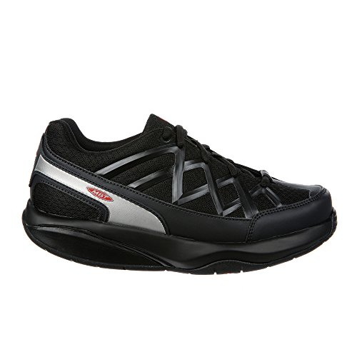 MBT Women's Sport 3 Walking Shoe, Black, 39 EU/8-8.5 W US