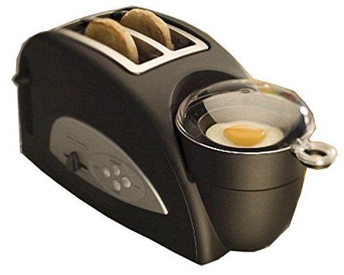 Back to Basics TEM500 Egg-and-Muffin 2-Slice Toaster and Egg Poacher by Back to Basics (Back To Basics Toaster Egg compare prices)