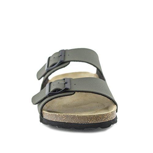PLAKTON Women's Clogs & Mules Green 9j3VG68Ba