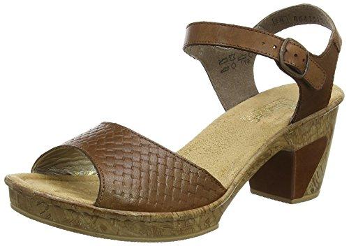 Rieker 69771-22, Sandalias para Mujer Marrón (22)