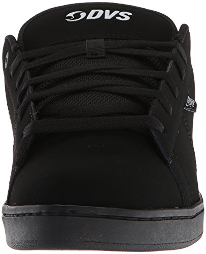 Dvs Footwear Mens Men's Revival Split Skate Shoe, Black Black (Black White Leather 007)