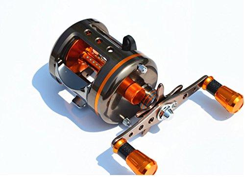 Mingyang gs5000 One Piece航空宇宙アルミSolderless釣りBaitcastingリール8 BB Right Handed Fishing Tackle GR 5.1 : 1   B00XTRTUV6