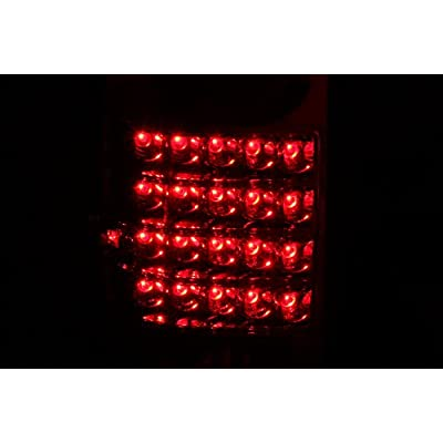 Anzo USA 311043 Toyota Pickup Red/Clear LED Tail Light Assembly - (Sold in Pairs): Automotive