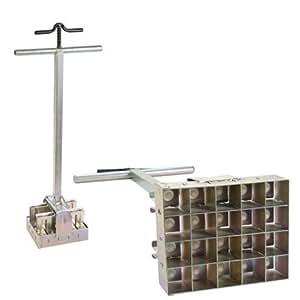 Soil block maker multi 20 commercial long for Soil block maker