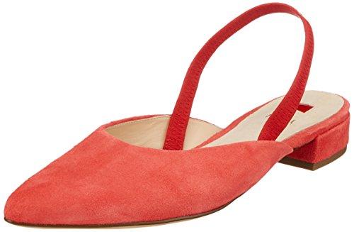 HÖGL Flats Koralle Orange 2622 Ballet Women's 10 5 vwqvSr