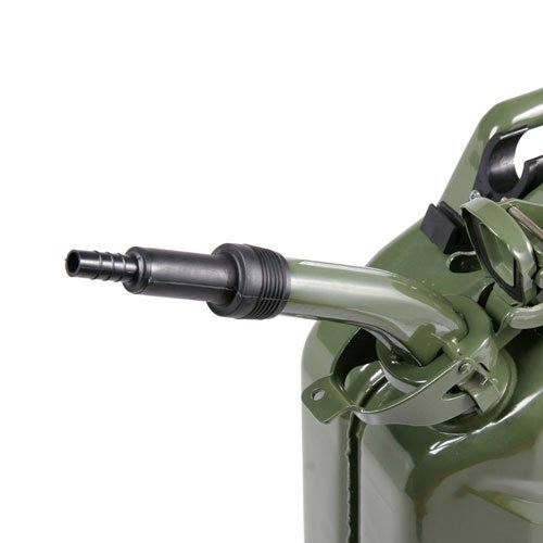 Sirius Rigid Pouring Spout for Jerry Cans Black