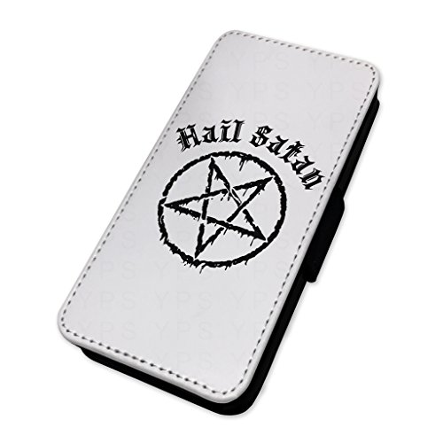 Hail Satan – Star gotico – Custodia ad aletta in pelle copertura di carta Apple Iphone 7 Plus