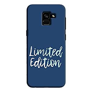 Cover It Up - Limited Edition Blue Galaxy A7 2018 Hard Case