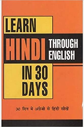 Buy Learn Hindi in 30 Days Through English Book Online at Low Prices