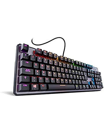 Krom Kernel - Teclado Español Gaming, color negro