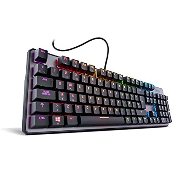 Krom Kernel - Teclado Español Gaming, Color Negro: Krom: Amazon.es ...
