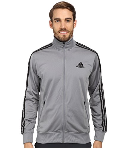 Adidas Track Jacket - Men GRAY 2XL