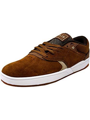 DC Men's Tiago S Skate Sneakers, Brown, 9 D