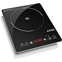 Aicok Portable 1500W Induction Cooktop Burner