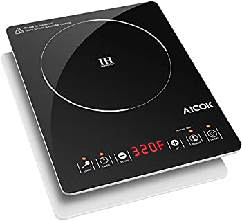 Aicok Portable 1500W Induction Cooktop Countertop Burner