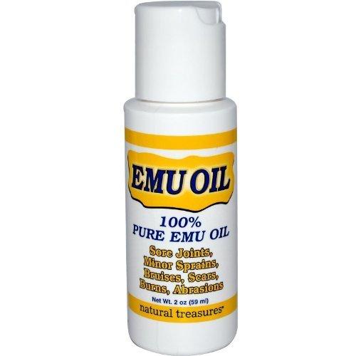 B.N.G. Natural Treasures 100% Pure Emu Oil 2 fl oz