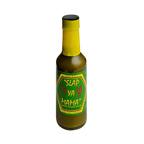 Slap Ya Mama All Natural Louisiana Style Hot Sauce, Jalapeno Flavor, 5 -