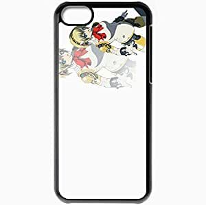 Personalized iPhone 5C Cell phone Case/Cover Skin Aegis Black