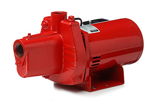 Red Lion RJS-50 602006 1/2-HP 12-GPM Thermoplastic Shallow Well Jet - 2 Pump 1 Jet