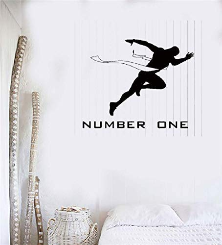Motivation For Runners - EvelynDavid Decals Hone Wall Vinyl Stickers Sayings Lettering Room Home Hone Wall Vinyl Decor Mural Art Running Motivation Runner Run