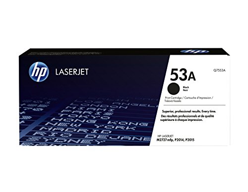 HP 53A (Q7553A) Black Original LaserJet Toner Cartridge for sale  Delivered anywhere in USA