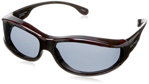 Solar Shield Surf Polarized Rectangular Sunglasses ,Tortoise,51 - Solar Amazon Sunglasses Shield