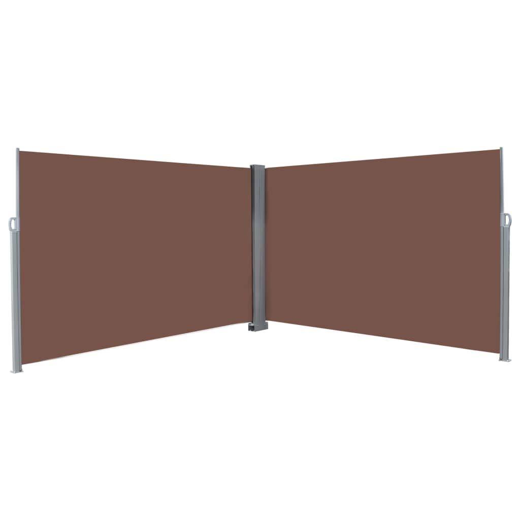 Festnight Tenda Laterale Riavvolgibile 200x600 cm Crema Tenda da Sole Laterale Retrattile