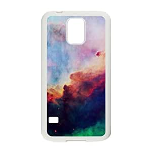 Samsung Galaxy S5 Case, Abstract Watercolor Hard Case For Samsung Galaxy S5(White) Yearinspace060072