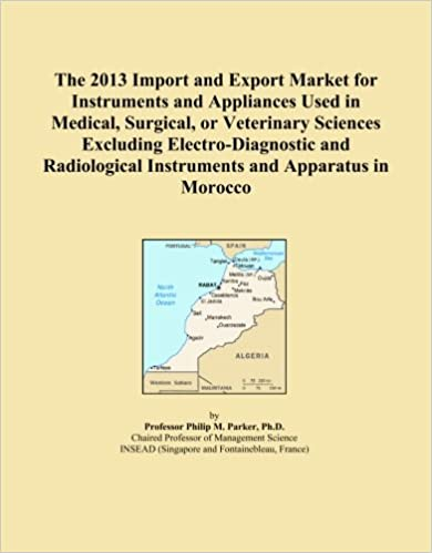 The 2013 Import and Export Market for Instruments and Appliances Used in Medical, Surgical, or Veterinary Sciences Excluding Electro-Diagnostic and Radiological Instruments and Apparatus in Morocco