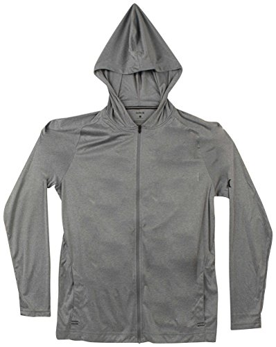 Hurley Icon Quick Dry Zip Hoody - Cool Grey Heather - L