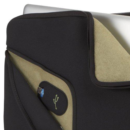 "Case Logic PAS-215 Laptop Sleeve for 15"" Apple® MacBook® Pro Black"
