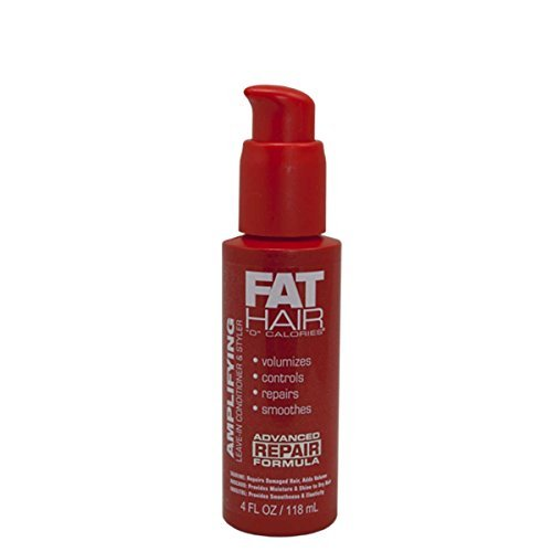 Fat Hair 0 Calories Amplifying Leave-In Conditioner & Styler, 4 fl oz by Samy ()