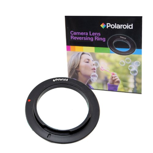 Camera Digital Adapter Ring (Polaroid 58mm Filter Thread Lens, Macro Reverse Ring Camera Mount Adapter For The Canon Digital EOS Rebel T3i, T3, T1i , T2i, XSI, XS, XTI, XT, 60D, 50D, 40D, 30D, 20D, 10D, 5D, 1D, 5D Mark 2, 7D Digital SLR Cameras)