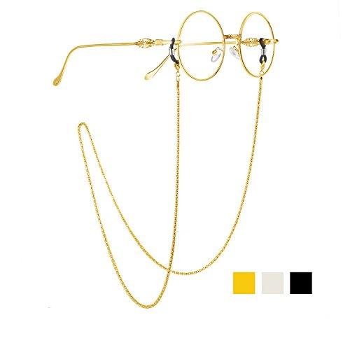 4f6936dc00f Whaline 3 Pieces Eyeglasses Chain Cord Sunglass Neck Strap Holder ...
