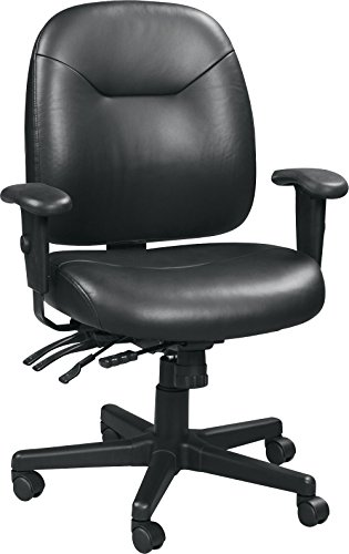Eurotech Seating 4×4 LE LM59802A-BLKL Slider Swivel Chair, Black